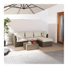 Biege Sofa Arholma Sofa With Footstool Outdoor Ikea