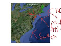 Thirteen Colonies Map 13 Colonies Regions States History 13 Colonies Showme