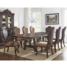 steve silver dining room furniture steve silver angelina 9 piece traditional dining set wayside