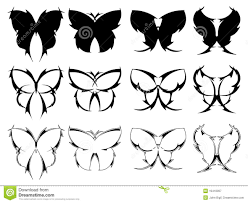 butterfly tattoo designs royalty free stock photography image