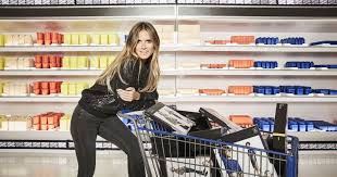 si e social lidl exclusive look heidi klum s clothing line for lidl