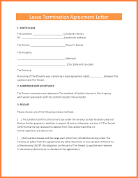 Tenant Reference Letter From Landlord 8 Termination Of Rental Agreement Letter By Tenant Purchase