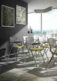 chair with folding seat for conference and meeting rooms idfdesign