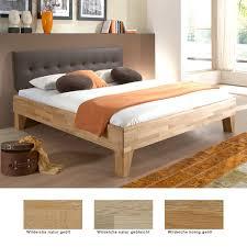 Schlafzimmer Mit Betten In Komforth E Massivholzbett Biasca Eiche Farben Und Größe Nach Wahl Futonbett