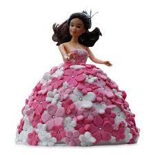 doll cake dolls shaped fondant cake blue heaven cakes flowers