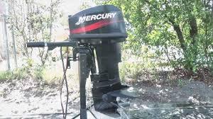 2003 mercury 25hp outboard motor youtube