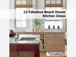 beach cottage kitchen designs bistro on the bay beach house