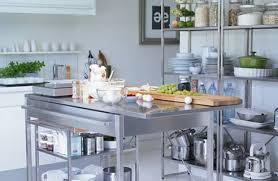 Ikea Kitchen Island Stainless Steel Roselawnlutheran - Stainless steel kitchen cabinets ikea