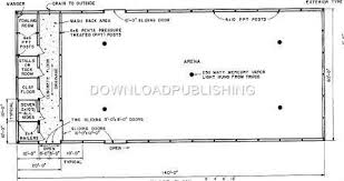 10 Stall Horse Barn Plans Minmax Learn Barn Arena Plans