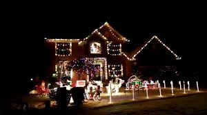 Christmas Home Decoration Pic Best Christmas House Decoration With Music Youtube
