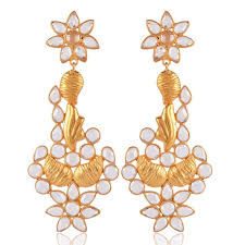 jhumki earring best price jhumka earring cz and 18k gold vermeil 925 silver