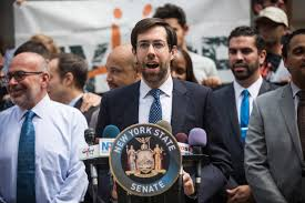new york state senator daniel squadron who represents nyc