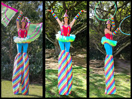 clown stilts painter balloon stilter kids party