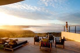 lexus gx in australia luxury lodge resort atop a secluded cliff in kangaroo island