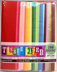 where to buy tissue paper creative hobbies rainbow color tissue paper bonus pack