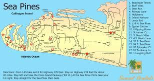 I 95 Map Hilton Head Map Sunset Rentals Vacation Rentals