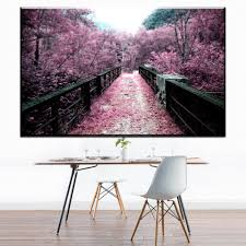 Cherry Decorations For Home Online Get Cheap Cherry Blossom Wall Decor Japan Aliexpress Com