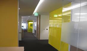 Conference Room Design Case Study Directionally Transparent Partition Walls For Group