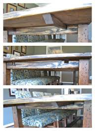How To Make A Dining Room Table How To Make A Diy Farmhouse Dining Room Table Restoration
