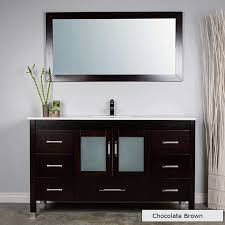 Bathroom Vanities Ottawa Ontario Large Single Vanity With Mirror And Faucet Modernbathrooms Ca