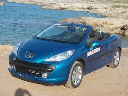 cabriolet peugeot our cars per group caravel gr rent a car crete greece