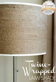 Diy Lamp Shade Diy Twine Wrapped Lampshade A Night Owl Blog