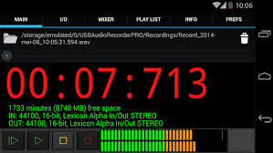 record audio android usb audio recorder pro android apps on play