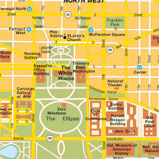 Map Dc Map Washington Dc City Center District Of Columbia Usa