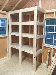 Making Wooden Shelves For Storage by Best 25 Heavy Duty Shelving Ideas On Pinterest Heavy Duty