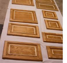 home dzine kitchen update wood kitchen cabinets with moulding