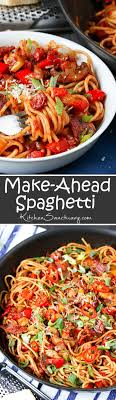 make ahead spaghetti that you can even freeze nicky s kitchen