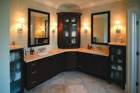 corner bathroom vanity ideas corner bathroom vanitycherry 2 door vanity set st within ideas