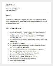 Network Engineer Resume Example by 46 Best Resume Templates To Download Free U0026 Premium Templates