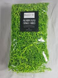 gift basket shredded paper 6oz green gift basket shred crinkle paper grass filler bedding ebay