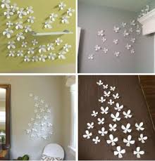 White Flower Wall Decor Superb Flower Wall Decor 3d Large Paper Flower Wall Diy Giant Wall