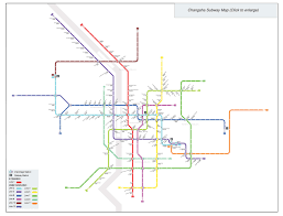 Beijing Subway Map by Changsha Subway Maps Metro Lines Stations