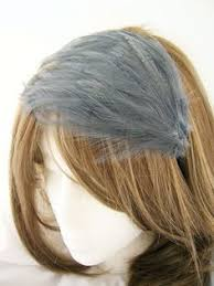 turkey feather headband item 767 the listing is for two pieces of biot spray on this