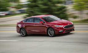 ford fusion 2017 interior 2018 ford fusion in depth model review car and driver