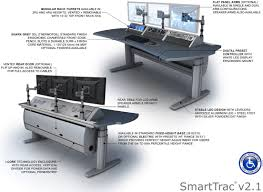 Adjustable Height Computer Desk Workstation tbc consoles smarttrac reviews