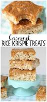 rice krispie treats for thanksgiving salted caramel rice krispie squares butter with a side of bread