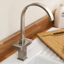 tapcet chrome modern pull out kitchen taps mixer swivel brushed