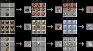 Minecraft Crafting Table Guide 1 9 Vmod More Crafting Recipes Minecraft Project