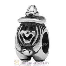 sterling silver european bead bracelet images Antique sterling silver halloween witches charm beads fits jpg