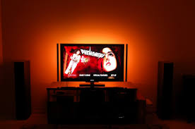 ambient light behind tv led home theater accent lights lighting behind tv lilianduval