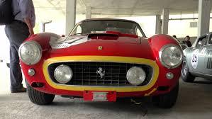 classic ferrari convertible classic ferrari v12 s and bizzarrini u0027s at spa classic 2014 youtube
