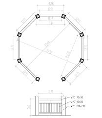 gazebo floor plans free diy pinterest inside 6 vitrines