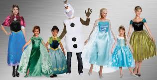 frozen costumes disney frozen costumes buycostumes