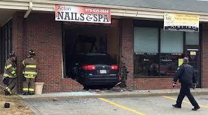 vehicle plows into acton nail salon news wicked local boston ma