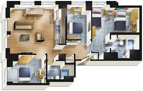 apartments with 3 bedrooms student housing chicago stay at the buckingham