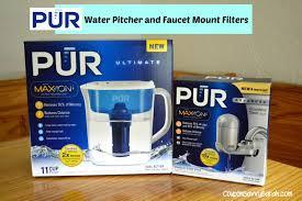 Pur Faucet Mount Water Filter Reviews Coupon Savvy Sarah Pur Water Pitcher And Faucet Mount Filter